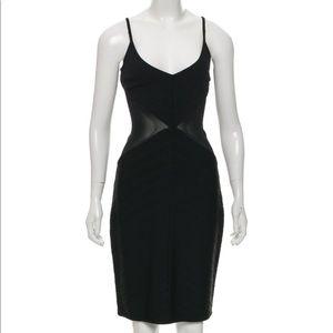 Black Hervé Leger dress